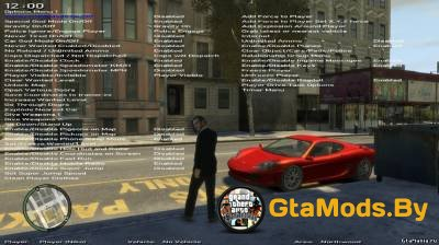 Simple Native Trainer Version 6.4 для GTA IV