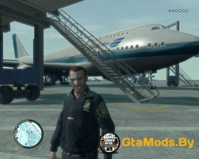 Boening 747-400 Kras Air для GTA IV
