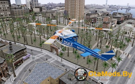 Bell412/NYPD Air Sea Rescue Helicopter для GTA IV