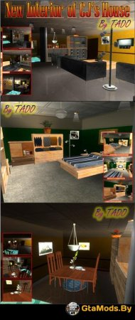 New Interior of CJs House для GTA San Andreas