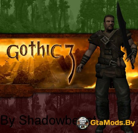 The hero from Gothic 3 для GTA San Andreas