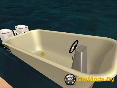 Bathtub Dinghy [1.0] для GTA SA