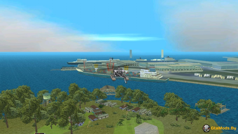 gta vice city замена лодки