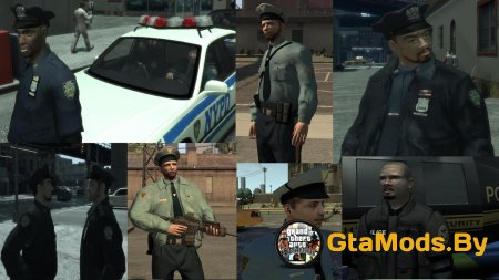 Ultimate NYPD and NY Uniforms Mod v2.0 для GTA IV