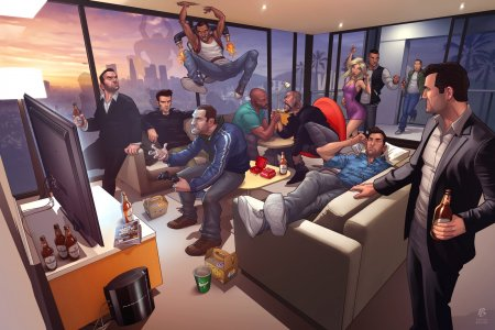 Патрик Браун Grand Theft Auto Legends 2012