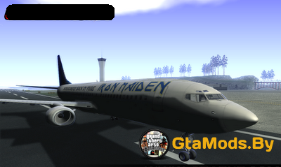 ED Force One Iron Maiden для GTA SA