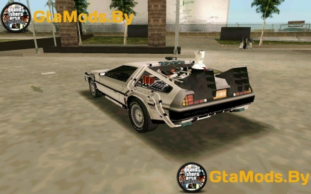 BTTF DeLorean DMC 12 ��� GTA VC