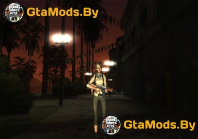 Resident Evil 6 Shery Asia Outfit для GTA SA
