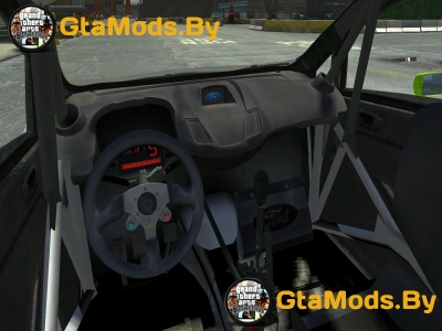 Ford Fiesta RS WRC Gymkhana (DiRT3) для GTA IV
