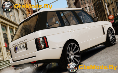 Land Rover Supercharged v1.5 для GTA IV