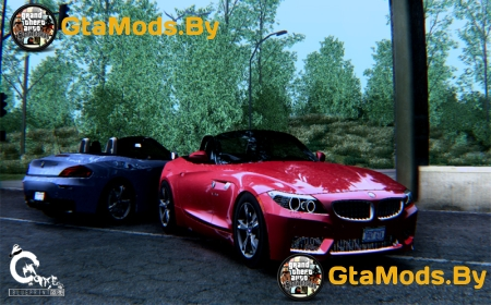 BMW Z4 sDrive28i для GTA SA