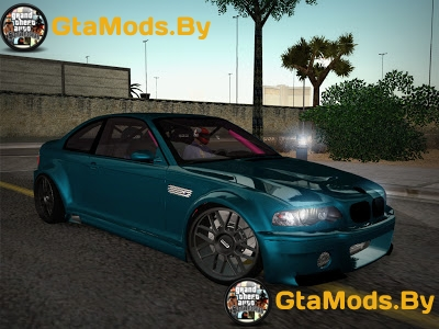 BMW E46 Drift II для GTA SA