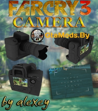 Camera from Far Cry 3 для GTA SA