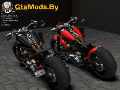 Harley Davidson Fat Boy Lo для GTA IV
