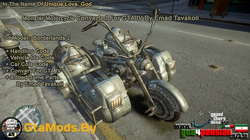 Monster Motorcycle для GTA IV