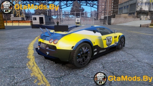 Bugatti Veyron 16.4 Body Kit Final для GTA IV
