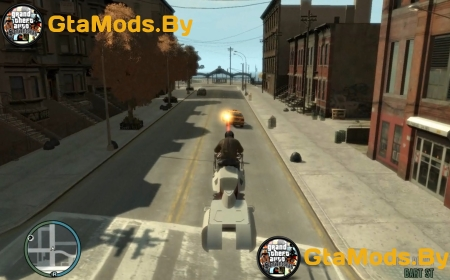 Star Wars Speeder Bike для GTA IV