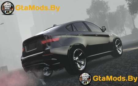 BMW X6M Cleaned 2010 для GTA IV