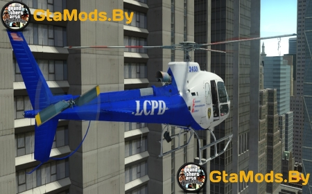 AS350 Ecureuil для GTA IV