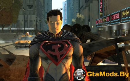 Injustice Red Son Superman для GTA IV