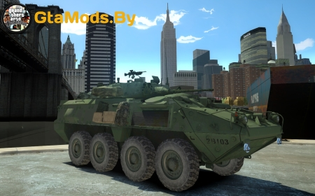 Canadian Armed Forces LAV III для GTA IV