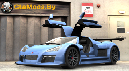 2011 Gumpert Apollo S для GTA IV