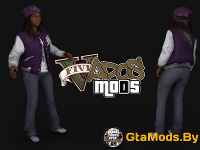 Ballas Girl Pack GTA V для GTA SA