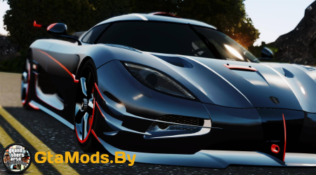 Koenigsegg Agera ONE1 [Official Release] v1.1 для GTA IV