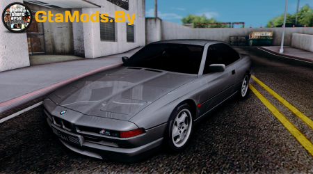 BMW E31 850CSi - Stock для GTA SA