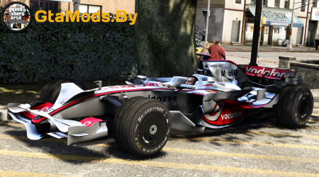 McLaren MP4-23 plus F1 driving style anim (beta) для GTA IV