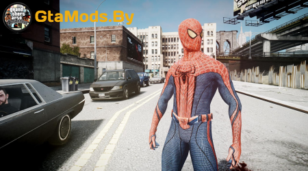 SpiderMan Skin для GTA IV