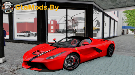 LaFerrari 'WheelsandMore' Edition [Dual EPM] для GTA IV