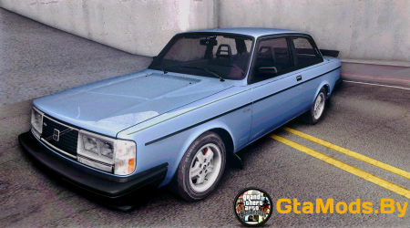 1983 Volvo 242 Turbo - Stock для GTA SA