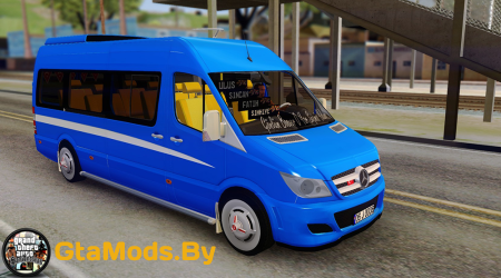 Mercedes-Benz Sprinter Dolmus для GTA SA
