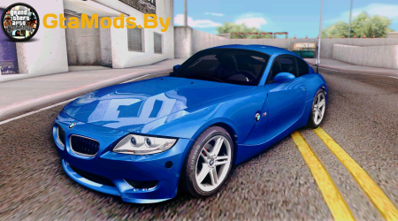 2008 BMW Z4M Coupe - Stock для GTA SA
