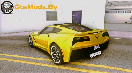 2014 Chevrolet Corvette Stingray C7 для GTA SA